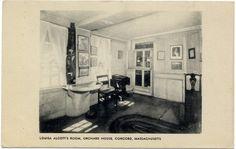 Louisa Alcott's room. Orchard House