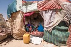 Mother of six Fardus came with her children to the live in an informal settlement in the city of Ainabo, after they lost all of their livestock