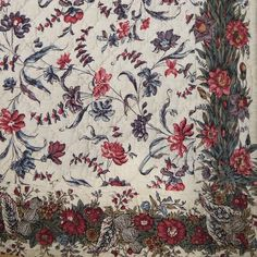 18th century French Blockprinted Cotton Quilt - picture 6