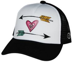 Kids Trucker Hats Infant & Toddler ARROWS OF LOVE by GromSquad