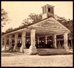 The old slave market