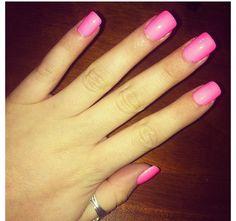 Barbie nails!!:)