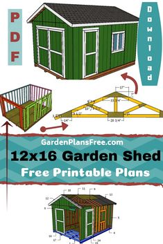 If you want to learn more about gable shed plans you have to take a close look over the free plans in the article. I have designed these large storage shed plans so you can add lots of useful storage space to your backyard. I have spent a lot of time