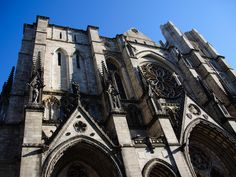 YOU CAN CLIMB TO THE TOP OF ONE OF THE WORLD'S LARGEST CATHEDRALS. The Cathedral Church of St. John the Divine is one of New York's grandest buildings, and one of the world's largest cathedrals. While there's much to explore there, the coolest way to see the chapel is on one of its Vertical Tours. These explorations take visitors to the roof of the building and focus on the cathedral's history and architecture.