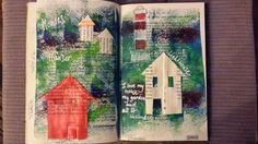 Mondapfelbaum: Houses....