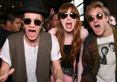 matt smith karen gillan arthur darvill | Matt Smith, Karen Gillan, and Arthur Darvill.