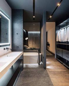 modern bathroom home design Interior Design Examples, Beautiful Interior Design, Best Interior Design, Luxury Interior, Interior Design Inspiration, Design Ideas, Gold Interior, Interior Ideas, Design Design