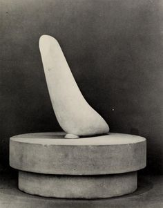 Constantine Brancusi | The Miracle (Sea [l]) (Le Miracle) (ca. 1930-1932) | White marble and limestone