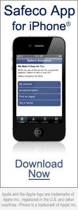 Safeco insurance iPhone app - SafeCo is the independent brand of Liberty Mutual - app is great!