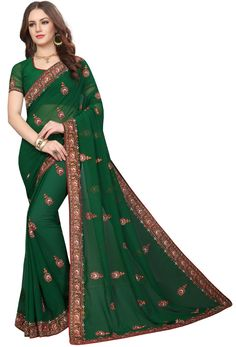 Online and immerse yourself in the finest variety of the attire. has thousand of in green green can be used in and etc. Nikvik is the of green color in Pakistani Party Wear Dresses, Party Wear Sarees, Green Suit, Green Saree, Indian Beauty Saree, Other Outfits, Indian Ethnic Wear, Blouse Styles, Georgette Fabric