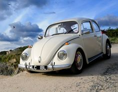 VW Bug Volkswagen Beetle at the beach