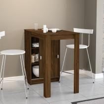 Mesa Compacta de Cozinha Módena com 2 Portas Casatanho - Politorno - Politorno
