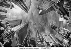 NEW YORK CITY - FEB 24: Street view of Times Square Skyscrapers, February 24…