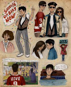 Ferris Bueller's Day Off....love, love, love this movie
