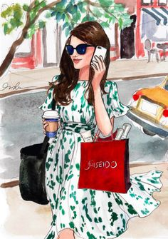 Meet the Inslee Shiseido IBUKI girl! IBUKI is a simple, amazing product line… Megan Hess, I Love Fashion, Fashion Art, Fashion Design, Fashion Women, Moda Chic, Spring Design, Illustration Sketches, Sketchbook Drawings