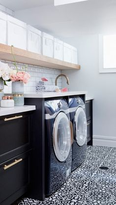 Laundry Room Wall Decor Ideas Unique 28 Best Small Laundry Room Design Ideas for. Laundry Room Wall Decor Ideas Unique 28 Best Small Laundry Room Design Ideas for 2019 Laundry Room Colors, Laundry Room Tile, White Laundry Rooms, Laundry Room Wall Decor, Laundry Room Remodel, Laundry Room Cabinets, Laundry Room Organization, Laundry Room Design, Laundry Area