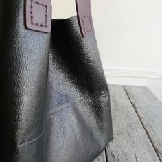 Specialty Dry Goods: HandCarry 1 - black leather