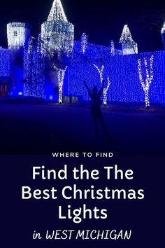 The Best Christmas Lights: Local Christmas Light Displays You Must See This Year! - grkids.com Christmas Light Show, Best Christmas Lights, Christmas Light Displays, Christmas Mom, East Grand Rapids, Grand Rapids Michigan, Cedar Lake, Types Of Lighting, The Best