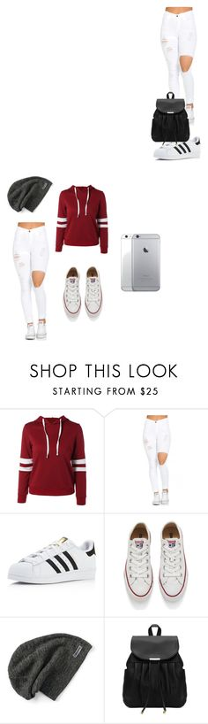 """""""Untitled #23"""" by dayonnarucker1234 on Polyvore featuring adidas and Converse"""