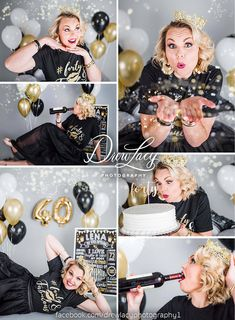 Birthday photography adult mom 40 New ideas 40th Birthday Cakes, Birthday Cake Smash, 40th Birthday Parties, Mom Birthday, 40th Bday Ideas, Birthday Ideas, Adult Cake Smash, 40th Cake, Cake Smash Photos