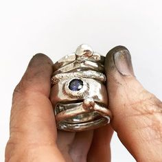Too Damn Metal Necklace Handmade Unique Alternative Rock