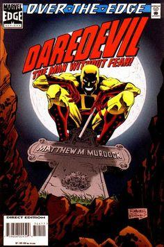 Cover for Daredevil (Marvel, Sept. Marvel Comics, Punisher Comics, Marvel Comic Universe, Marvel Comic Books, Comics Universe, Comic Book Heroes, Marvel Heroes, Daredevil Yellow, Walt Disney