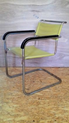 https://flic.kr/p/UKqFFU | Thonet B 34 Marcel Breuer Bauhaus | complete original condition