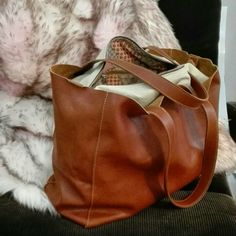 """Leather """"Big Bang Bag"""" in our showroom in Cremona, Italy!!"""