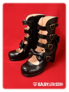 Belt short boots by Baby the Stars Shine Bright.  $109