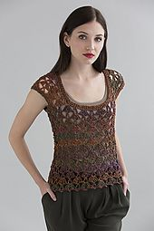 Ravelry: Santa Fe Top pattern by Doris Chan