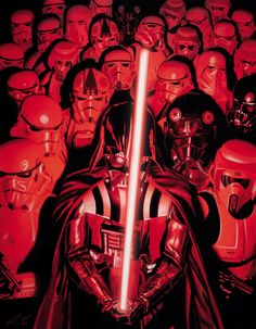 Star Wars - Darth Vader and Storm Troopers