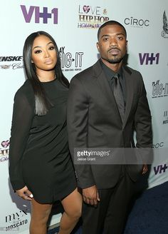 TV personalities Princess Love and Ray J attend the Love & Hip Hop: Hollywood Premiere Event on September 9, 2014 in Hollywood, California.