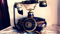 antique phone by ~beucr on deviantART