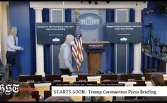 A hot mic that was recording prior to a briefing with President Donald Trump has raised some alarms. Fox News White House correspondent John Roberts is h. White House Staff, White House Correspondents, Fox News Hosts, Mortality Rate, Our President, Fake News, Golden State, To Tell, Let It Be