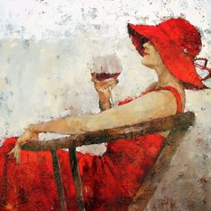 Impressionist artwork by Andre Kohn and other internationally recognized artists. Figurative oil paintings, drawings, sculpture and oversized paintings. Figure Painting, Figurative Art, Sketches, Fine Art, Paintings, Canvas, Drawings, Artwork, Prints