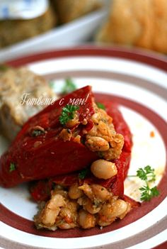 Bulgarian Recipes, Bulgarian Food, Vegan Recipes, Cooking Recipes, Yummy Food, Tasty, Food Design, Food To Make, Side Dishes