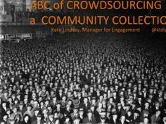 Links to a SlideShare presentation on community curation
