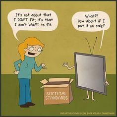 webcomic featuring science cartoons, work humor and more. Science Cartoons, Science Humor, Self Empowerment, Zimmerman, Live Love, Work Humor, Infj, Comic Strips, Family Guy