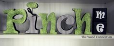Pinch Me Letter Set from The Wood Connection