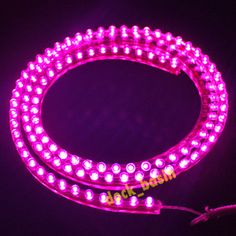 LED Under Truck Lights | Waterproof 120 LED Pink Strip Light for Aquarium Fish Tank Under Car ...