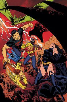 #Teen #Titans #Fan #Art. (Teen Titans #83) By: Joe Bennett. (THE * 5 * STÅR * ÅWARD * OF: * AW YEAH, IT'S MAJOR ÅWESOMENESS!!!™)