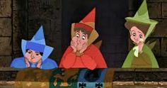 Flora, Fauna, and Merryweather Love them! Good fairies