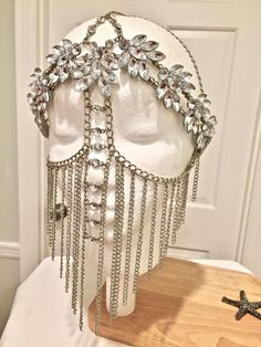 Face masks, top routine reference 6207347658 for a totally superb face care. Groom Accessories, Fashion Accessories, Etsy Jewelry, Jewelry Art, Handmade Jewelry, Unusual Jewelry, Jewellery, Jewelry Gifts, Shoulder Necklace