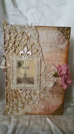 Original pinner sez: My 1st Junk Journal