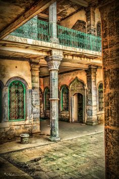 Old house by Mohammed Abdullah -Old house in KIRKUK castle, Architecture Old, Amazing Architecture, Architecture Details, Old Buildings, Abandoned Buildings, Underground Shelter, Baghdad Iraq, Arabic Art, Beautiful Paintings