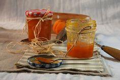 Recette Confiture d'abricot maison Apricot Jam Recipes, Caramel, Preserves, Jelly, Homemade, Sauces, House, Easy Delicious Recipes, Home Made