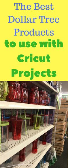 Cricut Project Ideas / Cricut home Decor / Cricut Designs / Dollar Tree Decorations / Dollar Tree Products / Dollar Tree Crafts /