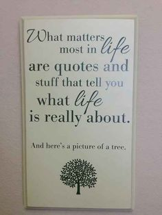 Funny pictures about What Matters Most In Life. Oh, and cool pics about What Matters Most In Life. Also, What Matters Most In Life photos. Sarcastic Comebacks, Funny Sarcastic, Funny Quotes, Funny Memes, Videos Funny, Sign Quotes, Wall Quotes, Farts Funny, Humorous Sayings