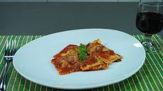 Ravioli ripieni: carne e spinaci – primi facili (meat ravioli)