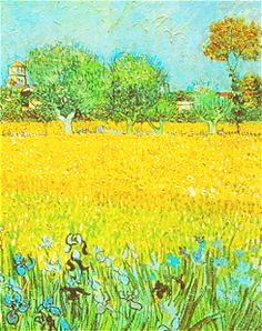 Vincent Van Gogh and yellow - floralls